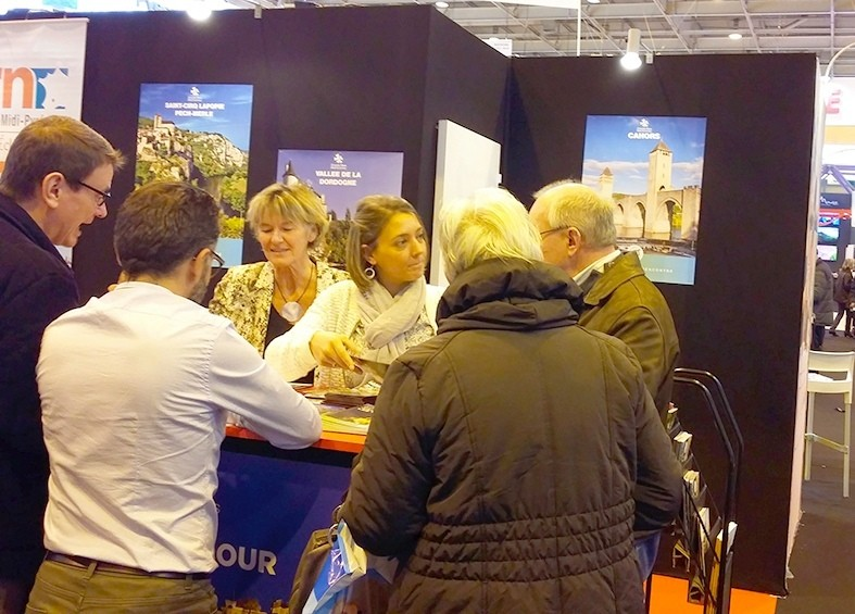 Lot tourisme au salon mondial du tourisme paris - Salon tourisme paris ...