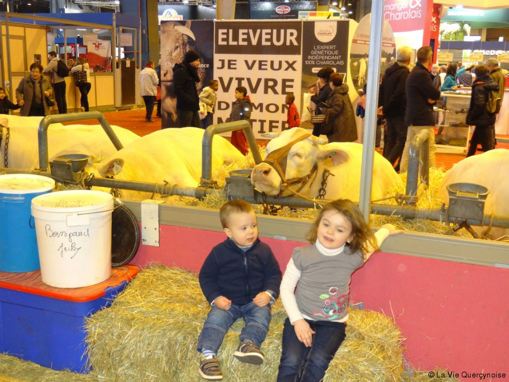 Le lot a remport tous les succ s au salon de l for Porte v salon de l agriculture
